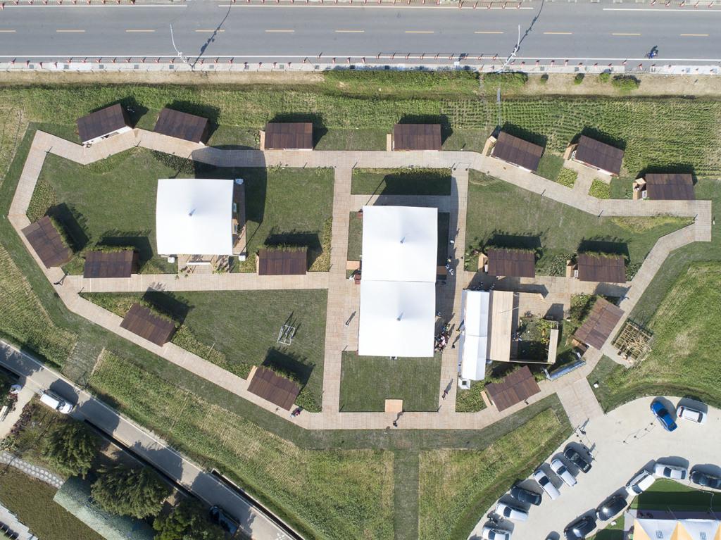 2019桃園農業博覽會「原民物產」專區-全區空拍照