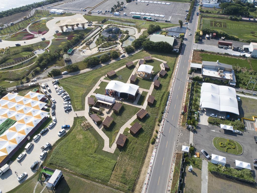 2019桃園農業博覽會「原民物產」專區-全區空拍照2